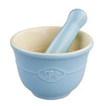 Tala Originals Pestle And Mortar Set, Blue - Set -  tala originals pestle mortar set blue