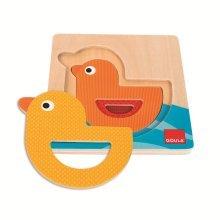Goula 3 Levels Duck Wooden Puzzle (3 Pieces)
