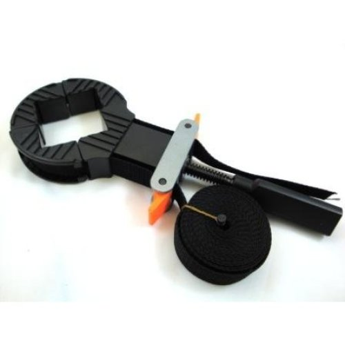 Toolzone Frame Clamp With 4 Plastic Jaws -  frame clamp 4 picture strap corner band jaws adjustable toolzone plastic new furniture