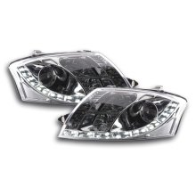 DRL Daylight headlight  Audi TT type 8N Year 99-05 chrome