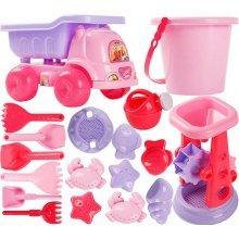 Kid's Beach Sand Toys Baths Pools Set 18PCS