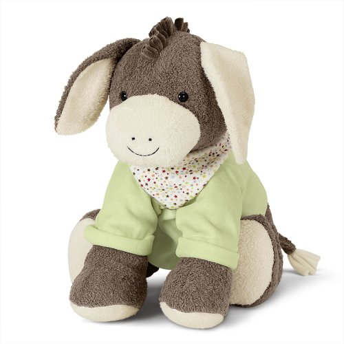Sterntaler Toy Animal Emmi, Age: For Babies From Birth, 45 cm, Brown/Green