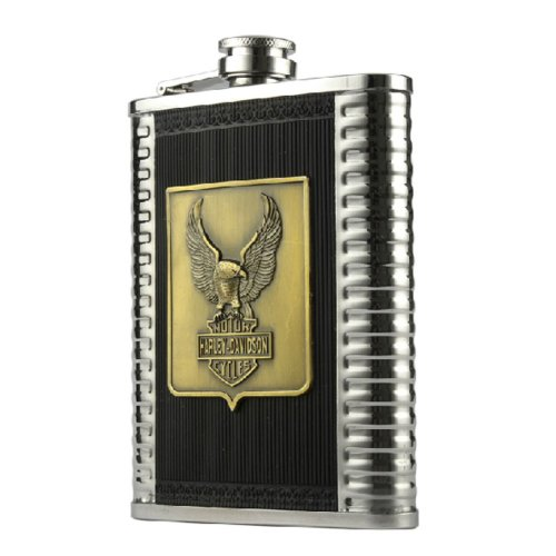 Creative Eagle Hiking/Camping Thicken Stainless Steel Hip Flask, 8oz