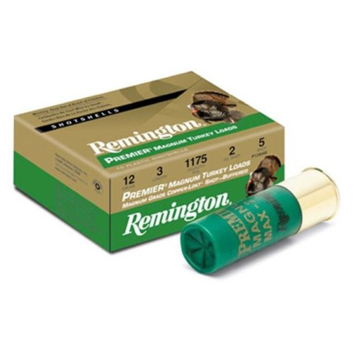 Remington 26861 Premium Magazine Turkey 20Ga 3 In. Max Dr 1.25 Oz Shotshell Copper Plated & Hv 10 100