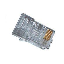Black Box FM110 RJ-45 Transparent wire connector