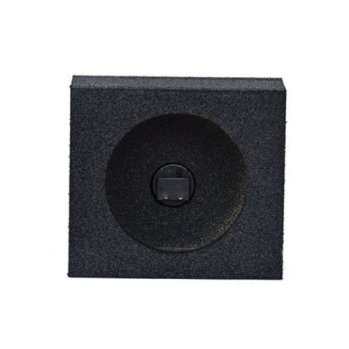 Qpower QBTW6.5 6.5 in. Pair Unloaded Speaker Boxes, Black