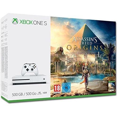 Xbox One S 500GB Assassin's Creed Origins Bundle (EU Version) (New)