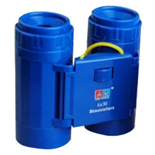 Children High Definition Telescope Binocular Portable Scientific Toys Army Blue