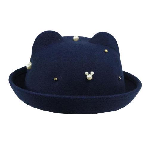 Comfortable/Autumn Elegant Hat Floppy Winter Hat/Bowler Hat Wide Brim Hat for Girl/Fashionable Style