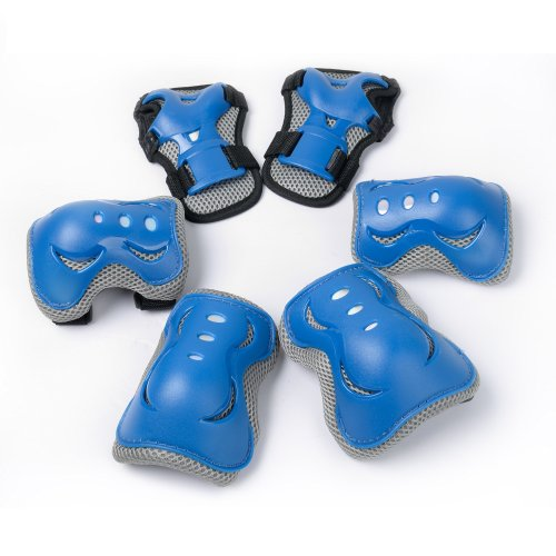 Knee pads for Kids/Children for Outdoor & Indoor Multi Sports Safety, Protective Gear Pads, Pads Set for Boys/Girls/Children's Ice/Roller...
