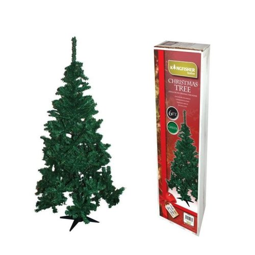 Kingfisher 6Ft Green Christmas X-mas Tree for Party Artificial Celebration