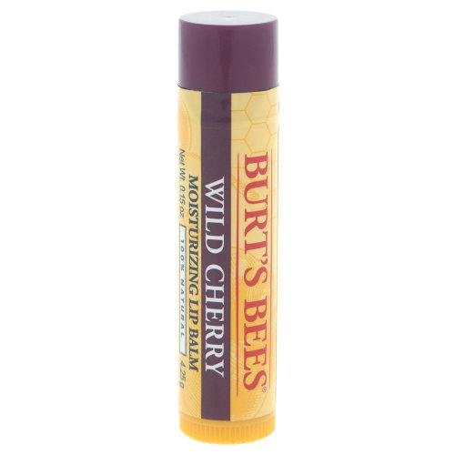 Wild Cherry Moisturizing Lip Balm by Burts Bees for Unisex - 0.15 oz Lip Balm