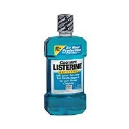 Listerine Listerine Antiseptic Mouthwash Coolmint Coolmint 166666 oz (Pack of 5)