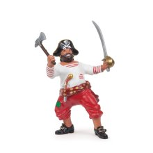 Pirate With Axe - Papo Figure New Multicolour Corsair Figure Figurine Model -  papo axe pirate figure new multicolour CORSAIR AXE FIGURE PIRATE