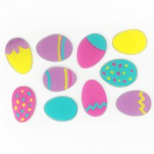 TRIXES Easter Egg Window Stickers