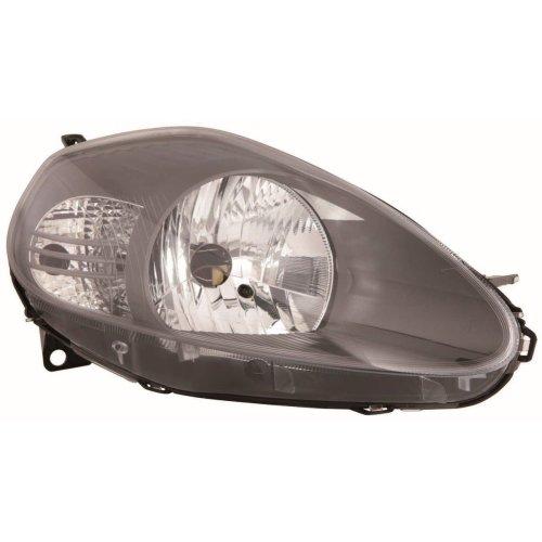 Fiat Grande Punto Hatchback 2006-10//2008 Chrome Headlights Lamps Pair O//S /& N//S