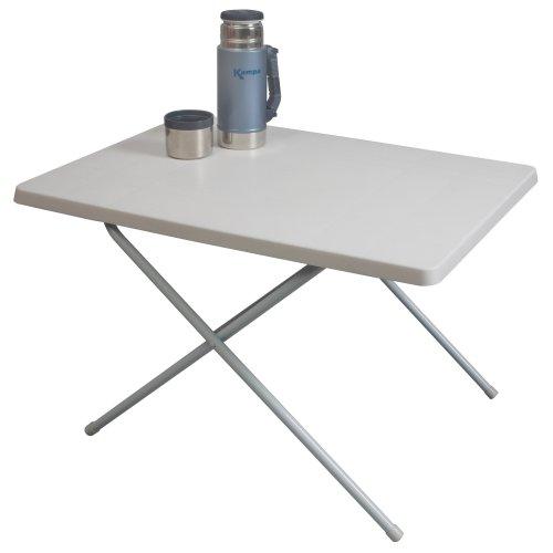 Kampa Duplex Plastic Table White