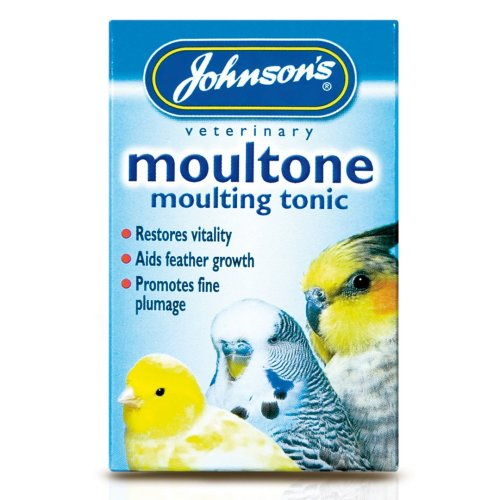 Jvp Cage Bird Moultone Moulting Tonic 15ml (Pack of 6)