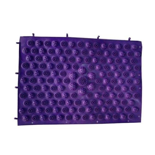 Set of 2 Foot Massager Therapy Mat Foot Massage Pad Shiatsu Sheet [Purple]