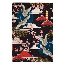 Classical Japanese Style Curtain Restaurant Kitchen Curtain Hang Cloth Doorway Curtains, #09
