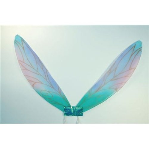 Blue Children's Pixie Fairy Wings -  wings pixie fancy dress child fairy accessory princess