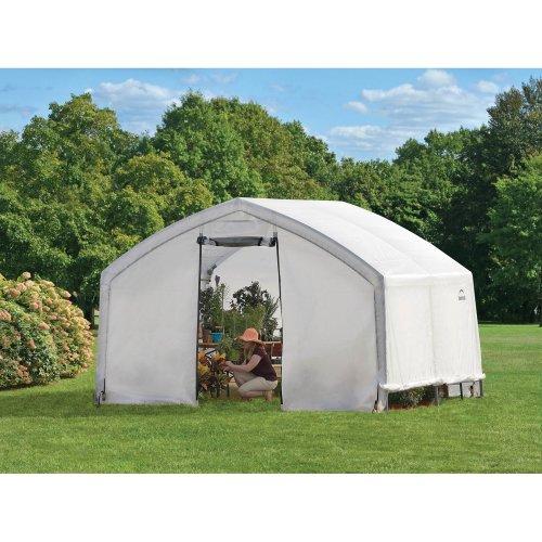 12x10 Shelter Logic Accelaframe Greenhouse