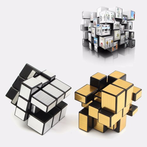 3x3x3 Mirror Magic Speed Cube Ultra-smooth Professional Puzzle Twist Toy Gift Intelligence Toys