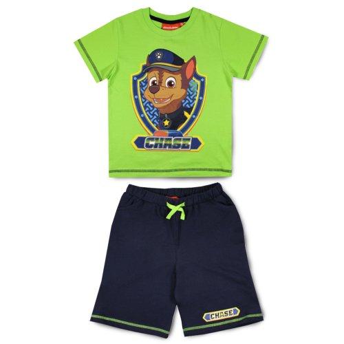 Paw Patrol T Shirt & Shorts Set - Green