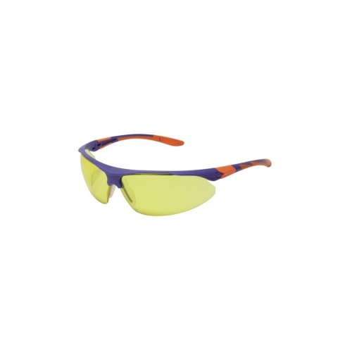 Silverline 140893 Clear Wraparound Safety Glasses Safety UV Impact Resistant