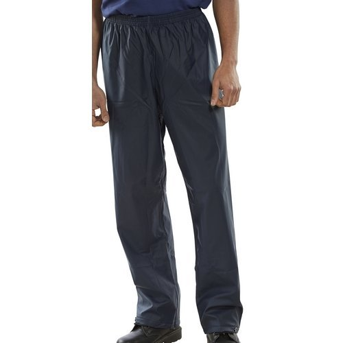 Click SBDTNL Waterproof Over Trousers Navy Blue Large