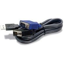 Trendnet TK-CU15 4.5m Black KVM cable