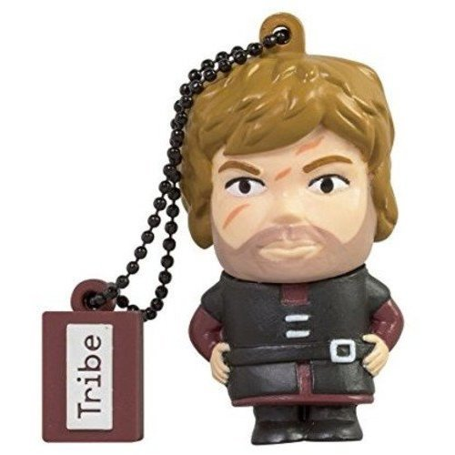 Tribe Game of Thrones Tyrion USB Stick 16GB Pen Drive USB Memory Stick Flash Drive, Gift Idea 3D Figure, PVC USB Gadget with Keyholder Key Ring –...