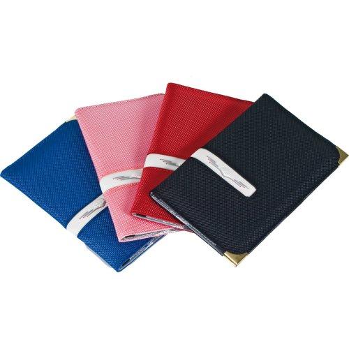 Red Deluxe Golf Scorecard Holder - Longridge Great Gift Free Uk -  deluxe holder golf scorecard longridge great gift free uk
