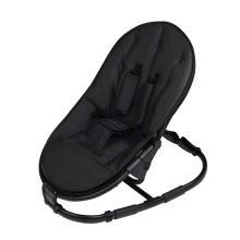 Ickle Bubba Rocksteady Baby Bouncer - Jet Black