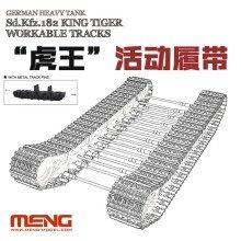Mngsps-038 - Meng Model 1:35 Sd.kfz.182 King Tiger Workable Tracks