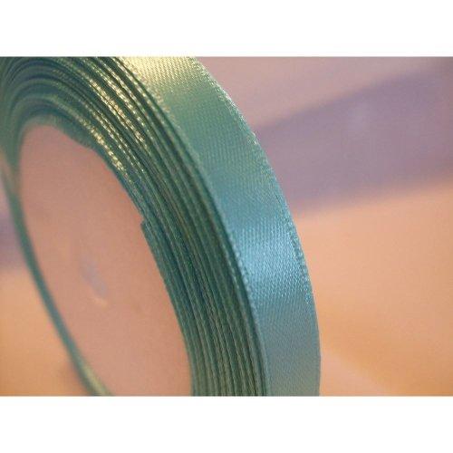 Satin Ribbon Roll - 10mm Wide - 25 Yards (22 Metres) - Light Blue