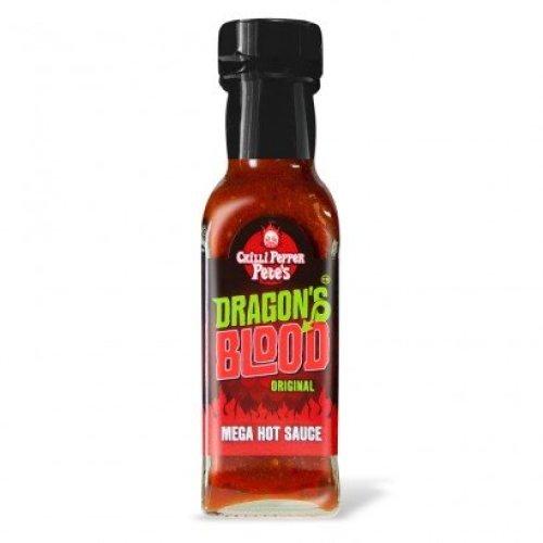 Chilli Pepper Pete's Dragon's Blood Original Mega Hot Sauce 100ml