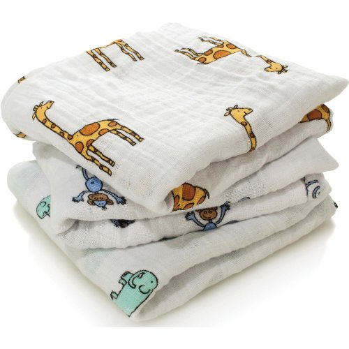 Aden + Anais Musy Muslin Squares - 3 Pack