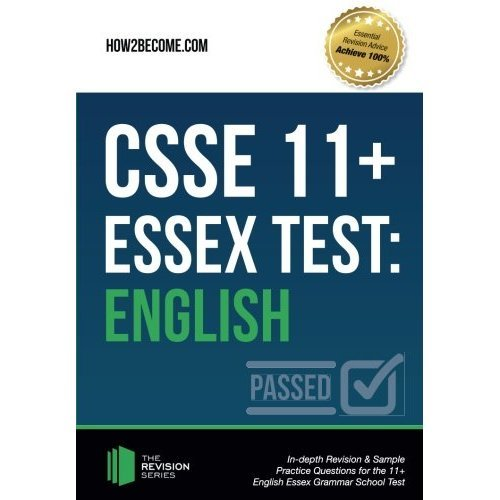 CSSE Essex 11+ Test: English: In-depth Revision & Sample Practice Questions for the 11+ English Essex Grammar School Test (Puzzle Series)