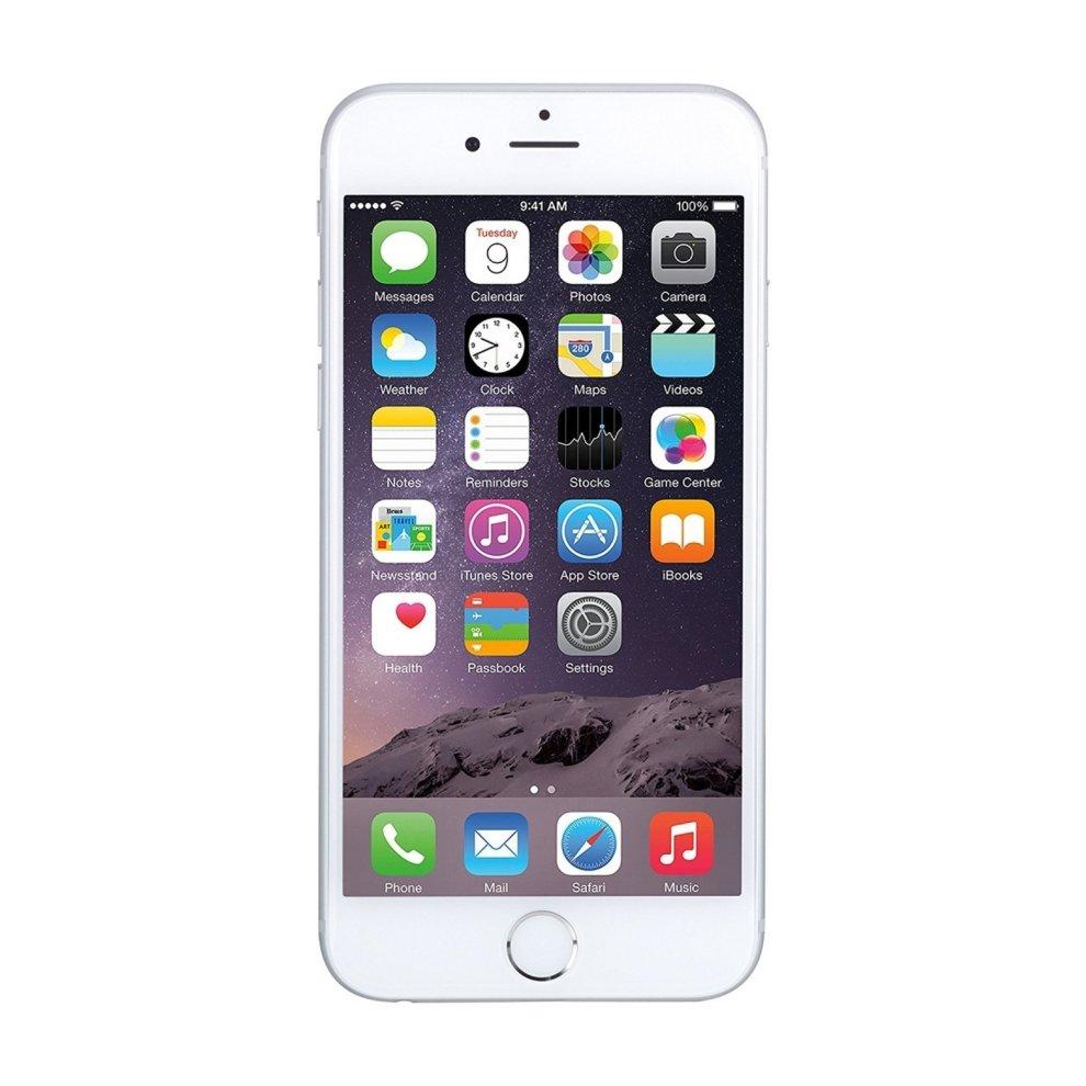 O2, 16GB Apple iPhone 6 - Silver