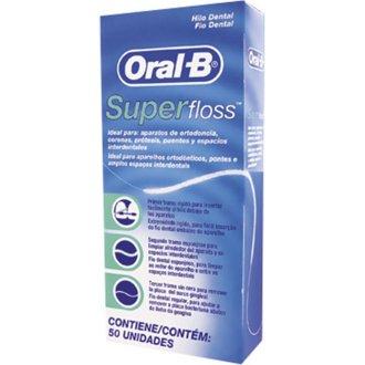 24 X Oral -B Super Floss 50 PRE-CUT STRANDS, Dental Floss