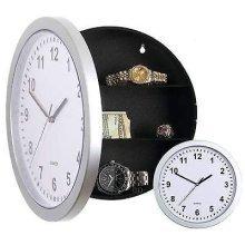 23.5cm Safe Wall Clock. - Clock Secret Hidden Money Stash Box Container Jewelry -  wall clock safe secret hidden money stash box container jewelry
