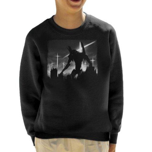Neon Genesis Evangelion Test Unit Kid's Sweatshirt