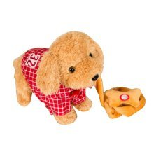 Electronic Simulation Toy Remote Control Electronic Pet-Red/Plaid