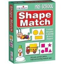 Cre0688 - Creative Pre-school - Shape Match
