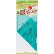 Clover Trace 'n Create Quilt Templates By Nancy Zieman-Lone Star Collection
