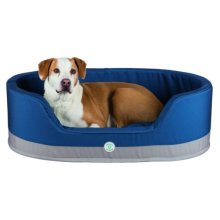 Insect Shield® Bed, 100 × 75 Cm, Taupe/navy - Trixie Shield Dog Bed Round -  trixie insect shield dog bed round taupenavy various sizes new