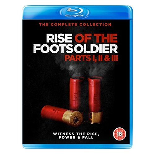 Rise of the Footsoldier Triple Box Set [Blu-ray] [DVD]