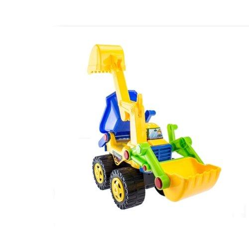 Small Excavator Plastic Excavator Model Toy Toy Vehicles Beach Toy