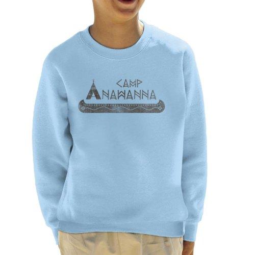 Salute Your Shorts Camp Anawanna Kid's Sweatshirt